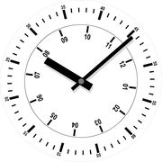 happy hour! why do clocks in advertisments indicate 10 past 10?